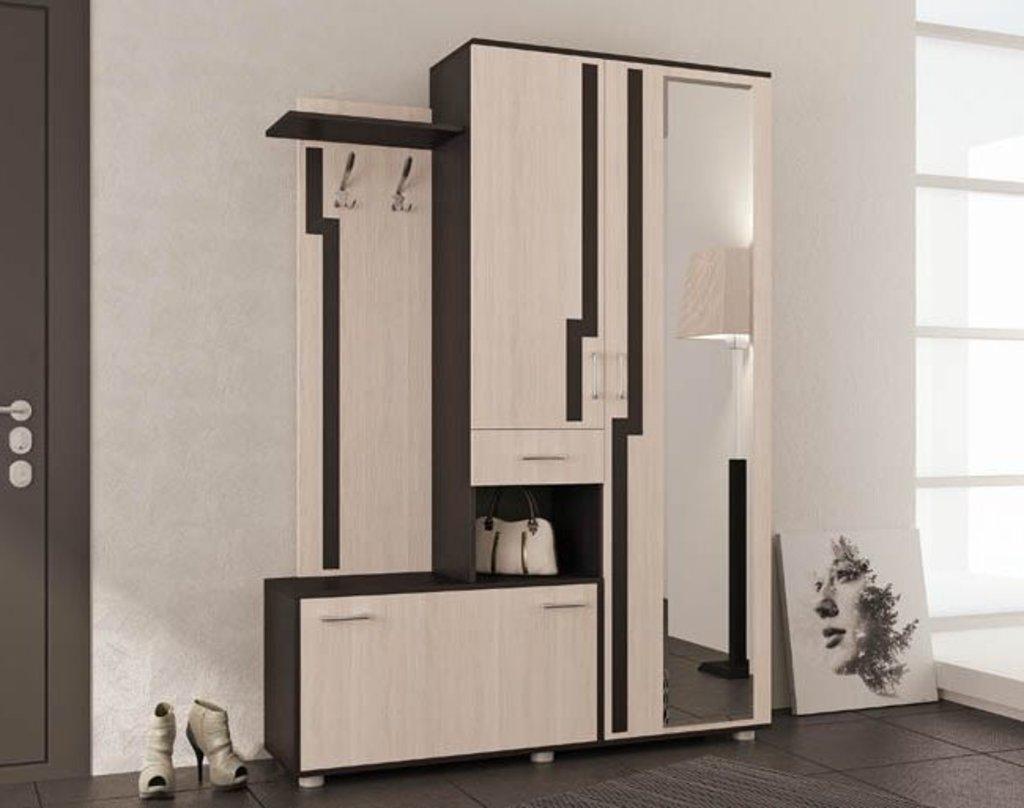 Мебель для прихожих, общее: Прихожая Луиза правая (Линаура) в Стильная мебель