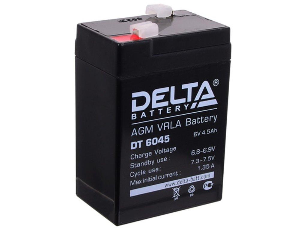 Delta: DELTA DT 6045 в БазаАКБ