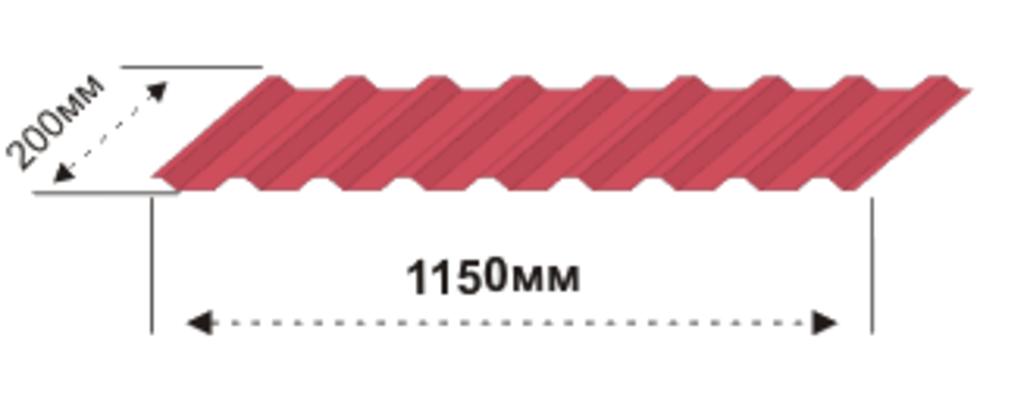 Доборные элементы: Накладка нащельник гофрированная в Магнит, ООО