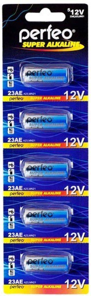 A, 23, 27, Мини-Мизинчиковая: Батарея A23, 23AE, E23A, 8LR932, MN21  Perfeo (5BL) в A-Центр Пульты ДУ