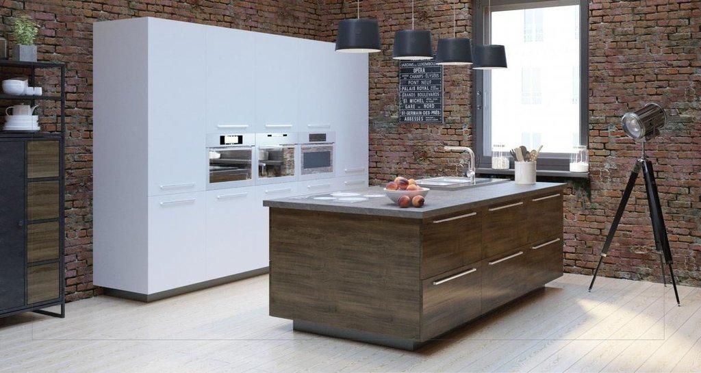 Кухни: Кухня Лофт в Модный интерьер