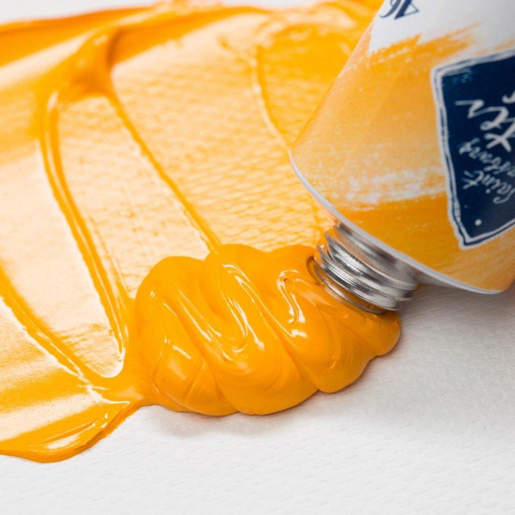 """МАСТЕР-КЛАСС: Краска масляная """"МАСТЕР-КЛАСС""""  кадмий желтый темный  46мл в Шедевр, художественный салон"""