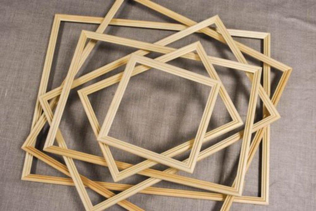 Рамы: Рама №2 40*40 Лесосибирск сосна в Шедевр, художественный салон