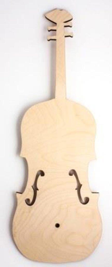"""Заготовки для часов: Основа для часов """"Скрипка"""" деревянная в Шедевр, художественный салон"""
