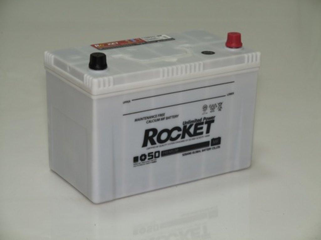 Аккумуляторы автомобильные: ROCKET MF SUPER +50 90 (105 D 31) L в Мир аккумуляторов