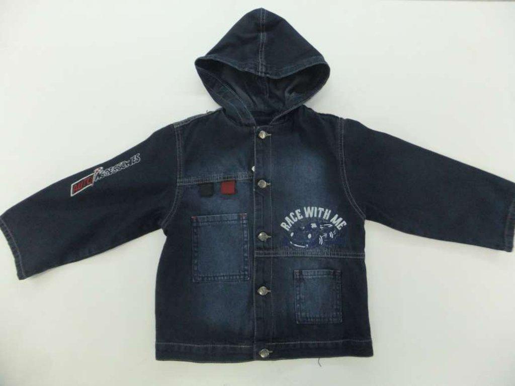 Верхняя одежда детская: Джинсовая куртка в Чиполлино,  магазин детской одежды