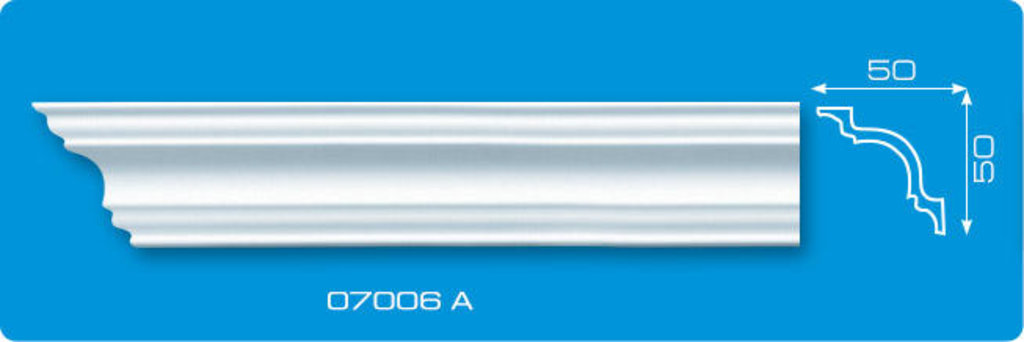 Плинтуса потолочные: Плинтус потолочный ЛАГОМ 07006 А экструзионный длина 2м в Мир Потолков