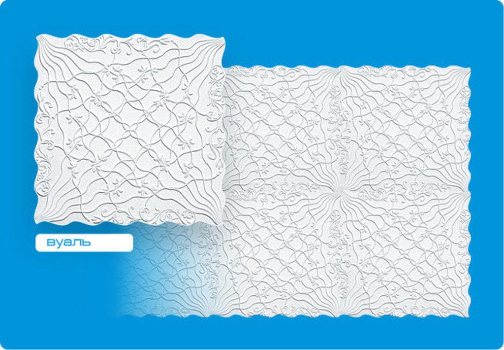 Потолочная плитка: Плитка ФОРМАТ инжекционная Вуаль в Мир Потолков