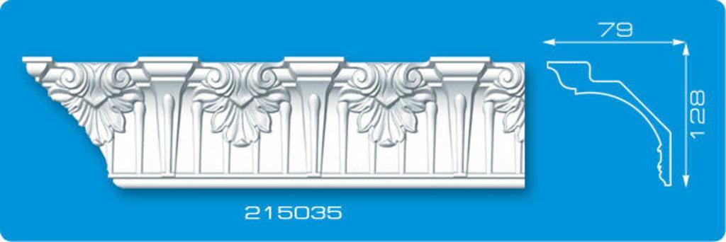 Плинтуса потолочные: Плинтус потолочный ФОРМАТ 215035 инжекционный длина 2м в Мир Потолков