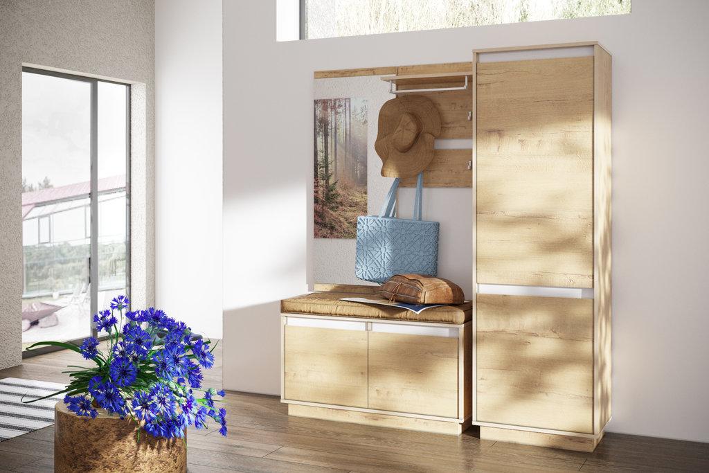 Мебель для прихожих, общее: Модульная прихожая VIRGINIA (Дуб Бунратти) в Стильная мебель