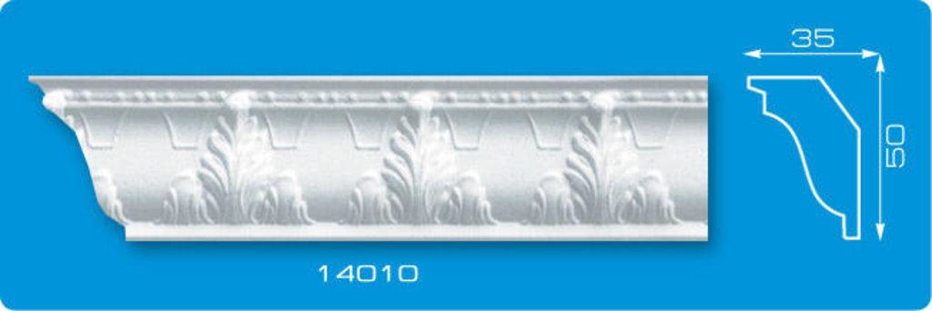 Плинтуса потолочные: Плинтус потолочный ФОРМАТ 14010 инжекционный длина 1,3м, средний в Мир Потолков