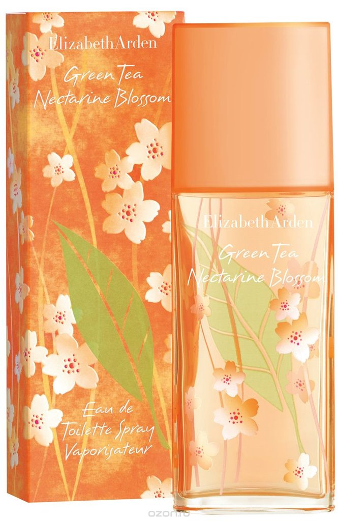 Для женщин: Elizabeth Arden Gren Tea Nectarine Blossom Туалетная вода ж 50   100ml в Элит-парфюм