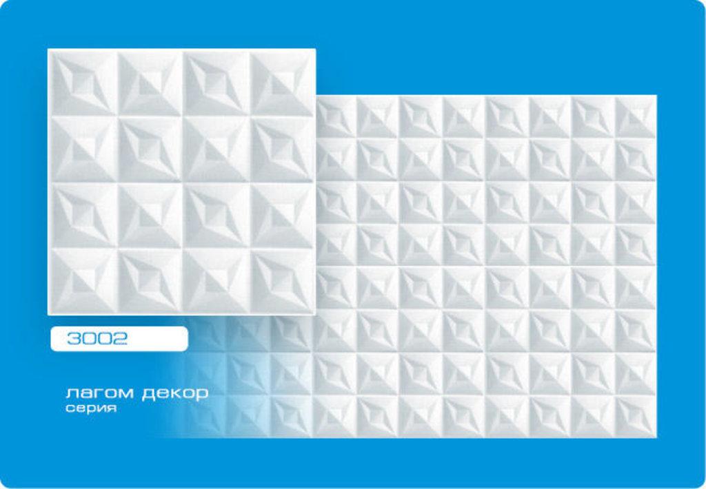 Потолочная плитка: Плитка ЛАГОМ ДЕКОР экструзионная 3002 в Мир Потолков
