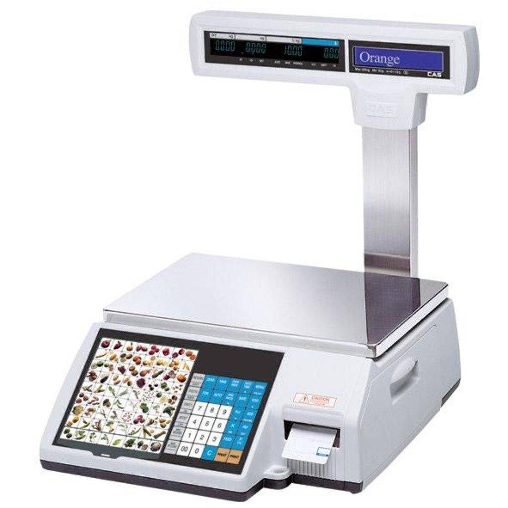 Весы с печатью этикеток: CL5000 торговые весы в Рост-Касс