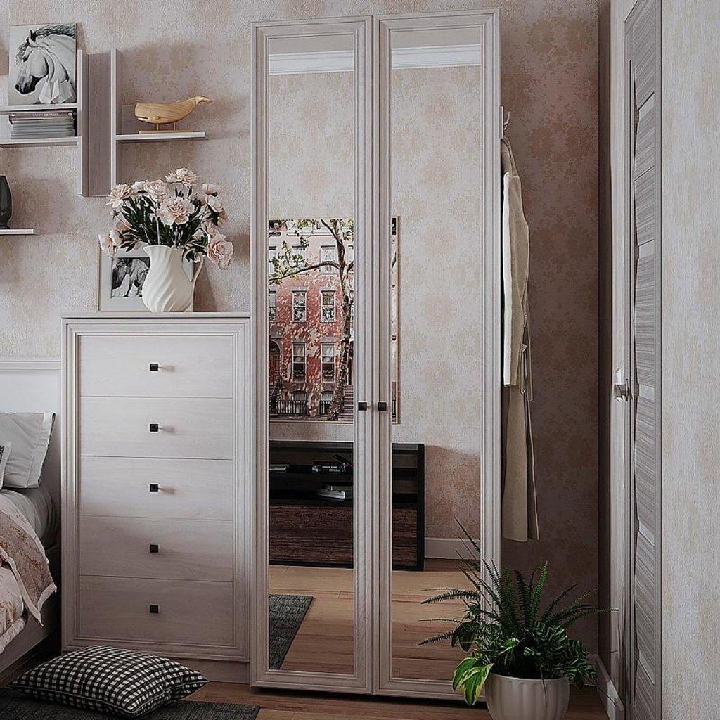 Шкафы для одежды и белья: Шкаф для одежды PAOLA 54 (Зеркало+Зеркало) в Стильная мебель