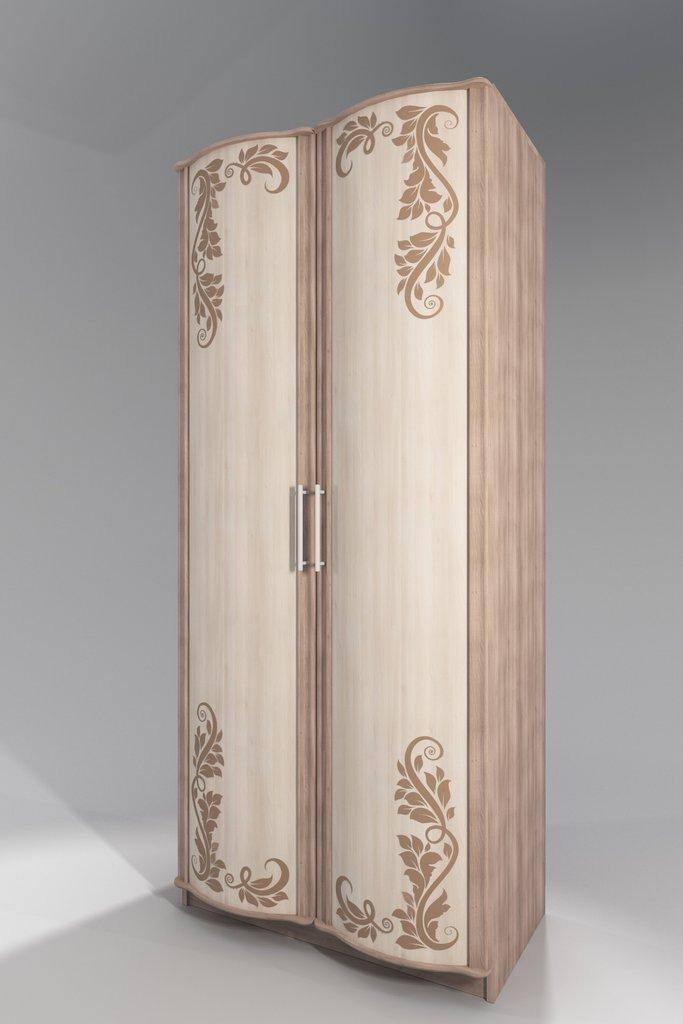 Шкафы для одежды и белья: Шкаф для одежды с фотопечатью Кристина в Стильная мебель