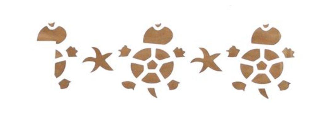 Трафареты: Трафарет пластиковый 10*25cм Черепахи в Шедевр, художественный салон