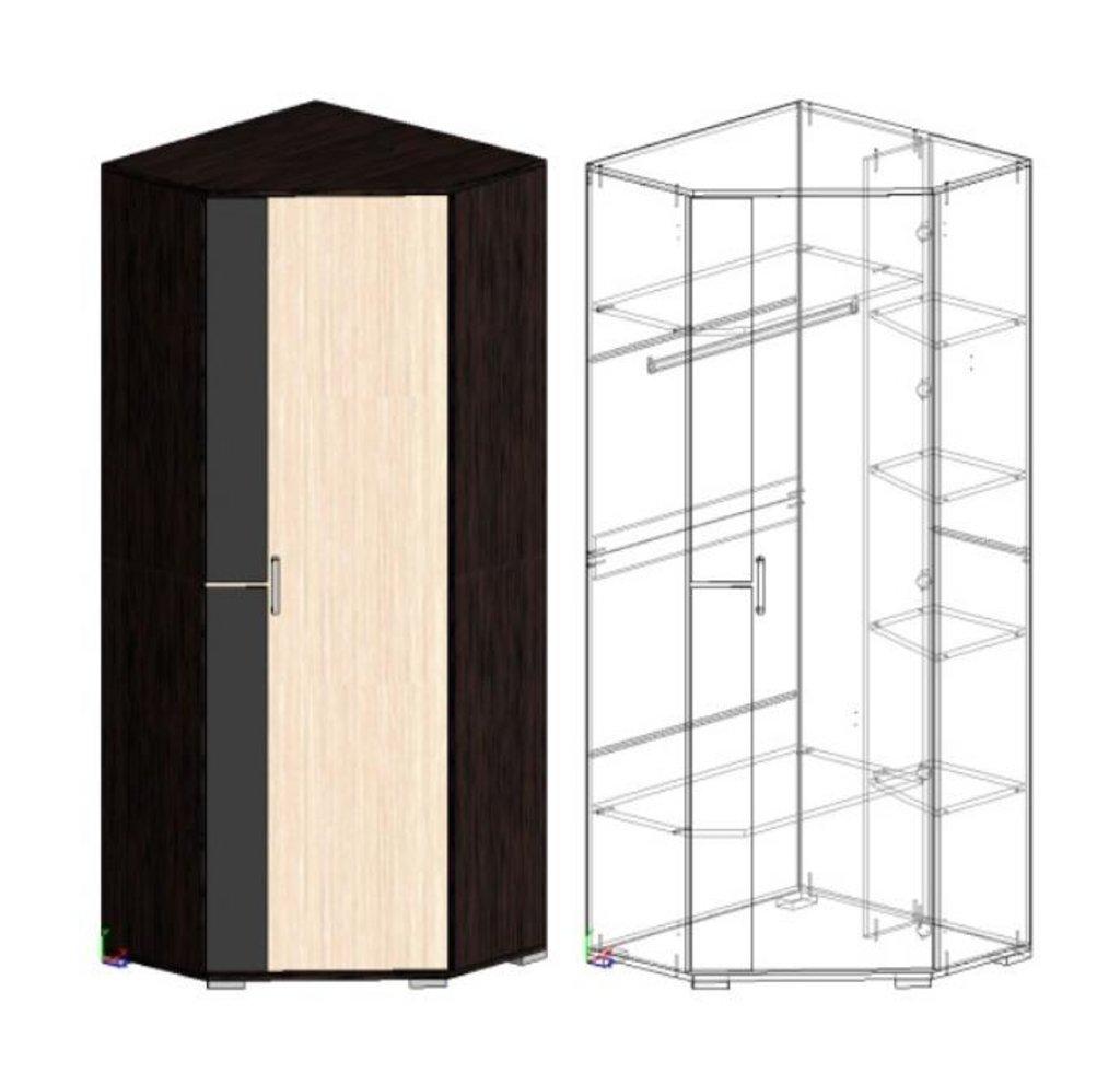 Мебель для прихожей Юнона-2: Шкаф угловой ШУ-02 (Юнона-2) в Диван Плюс