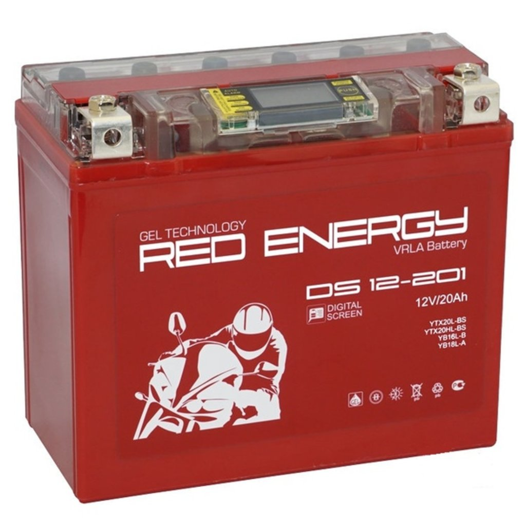 Red Energy: RED ENERGY DS 12-201 20Ah в БазаАКБ
