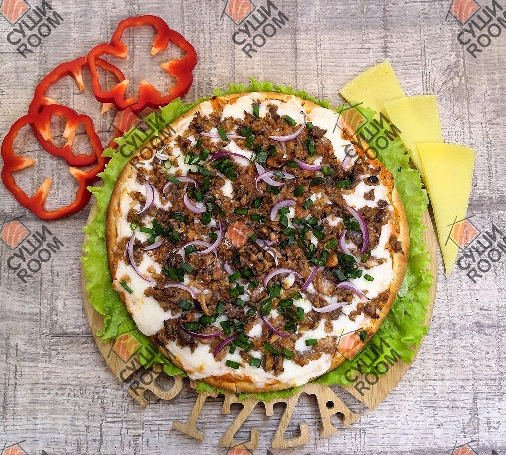 Пицца: Лосось - терияки в Суши Room