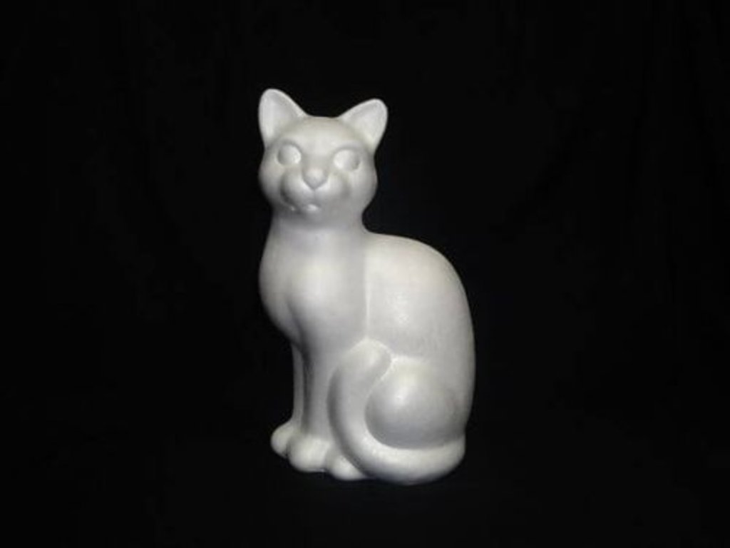 Пенопласт: Кот пенопласт в Шедевр, художественный салон