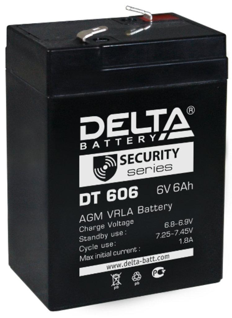 Delta: DELTA DT 606 в БазаАКБ