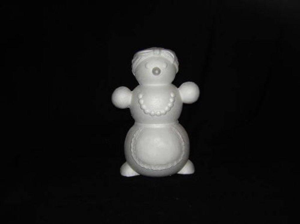 Пенопласт: Снегобаба пенопласт, Размер - 28 см в Шедевр, художественный салон