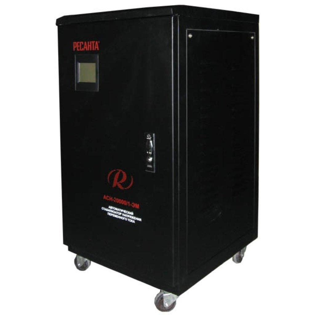 Электромеханического типа: Однофазный стабилизатор электромеханического типа РЕСАНТА АСН-20000/1-ЭМ в РоторСервис, сервисный центр, ИП Ермолаев Д. И.