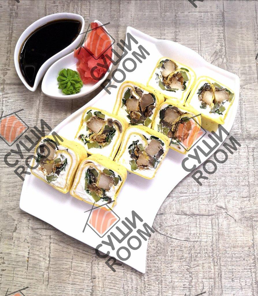 Роллы: Тортилья Чикен с грибами в Суши Room