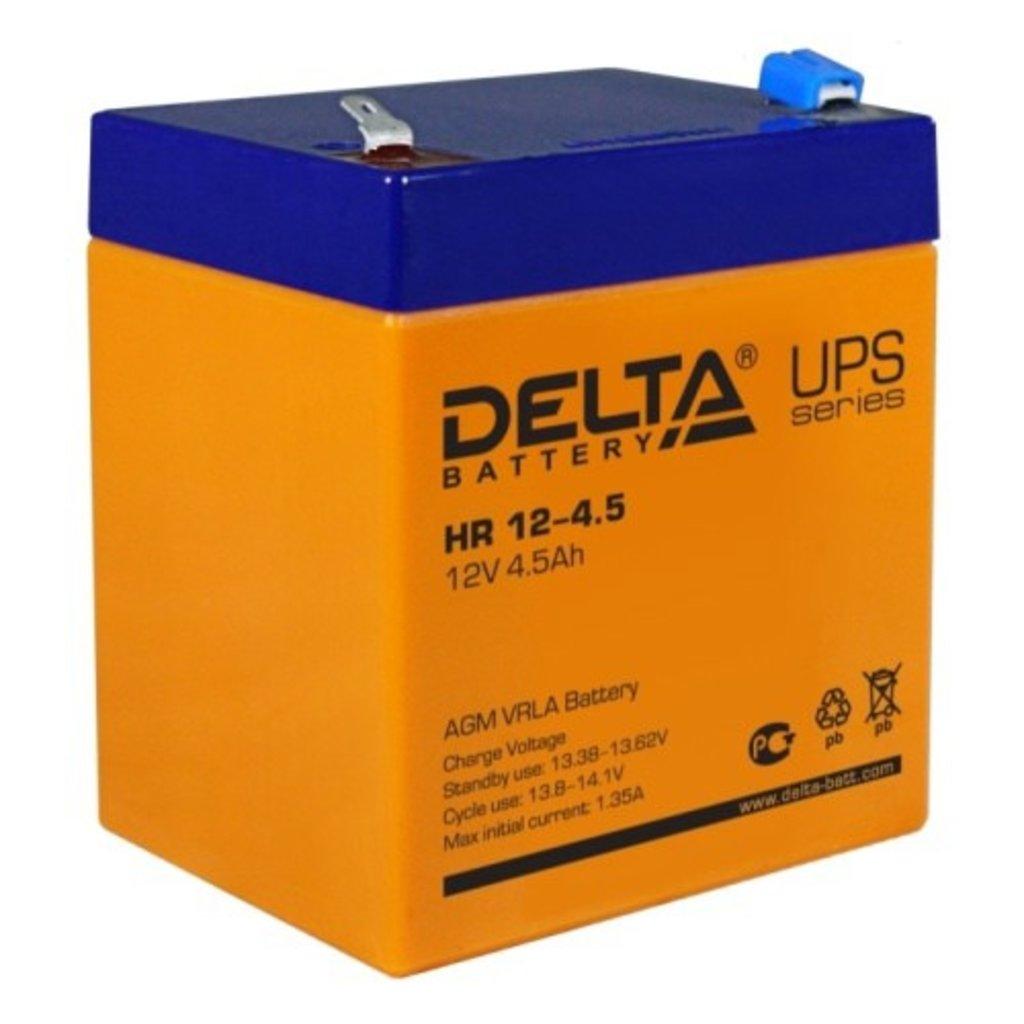 Delta: DELTA HR 12-4.5 в БазаАКБ