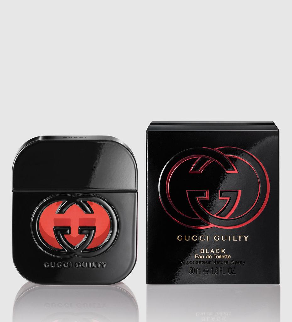 Gucci: Туалетная вода Gucci Guilty Black edt ж 50 ml в Элит-парфюм