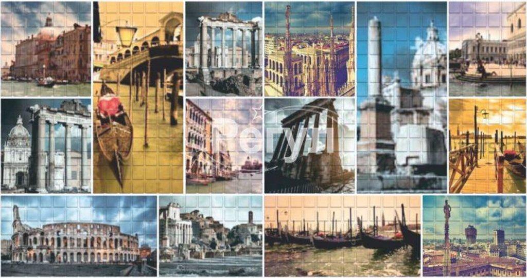 Панели ПВХ: Мозаика Римские каникулы в Мир Потолков