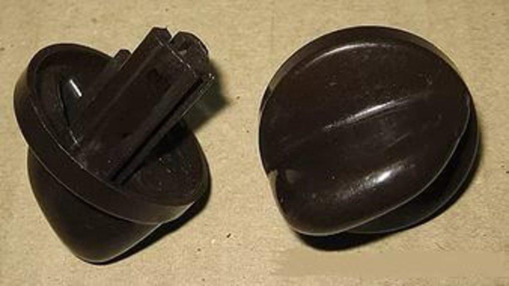 Запчасти для плит и духовых шкафов: Ручка крана коричневая для газовой плиты Gefest (Гефест), 1200.10.0.000-05 в АНС ПРОЕКТ, ООО, Сервисный центр