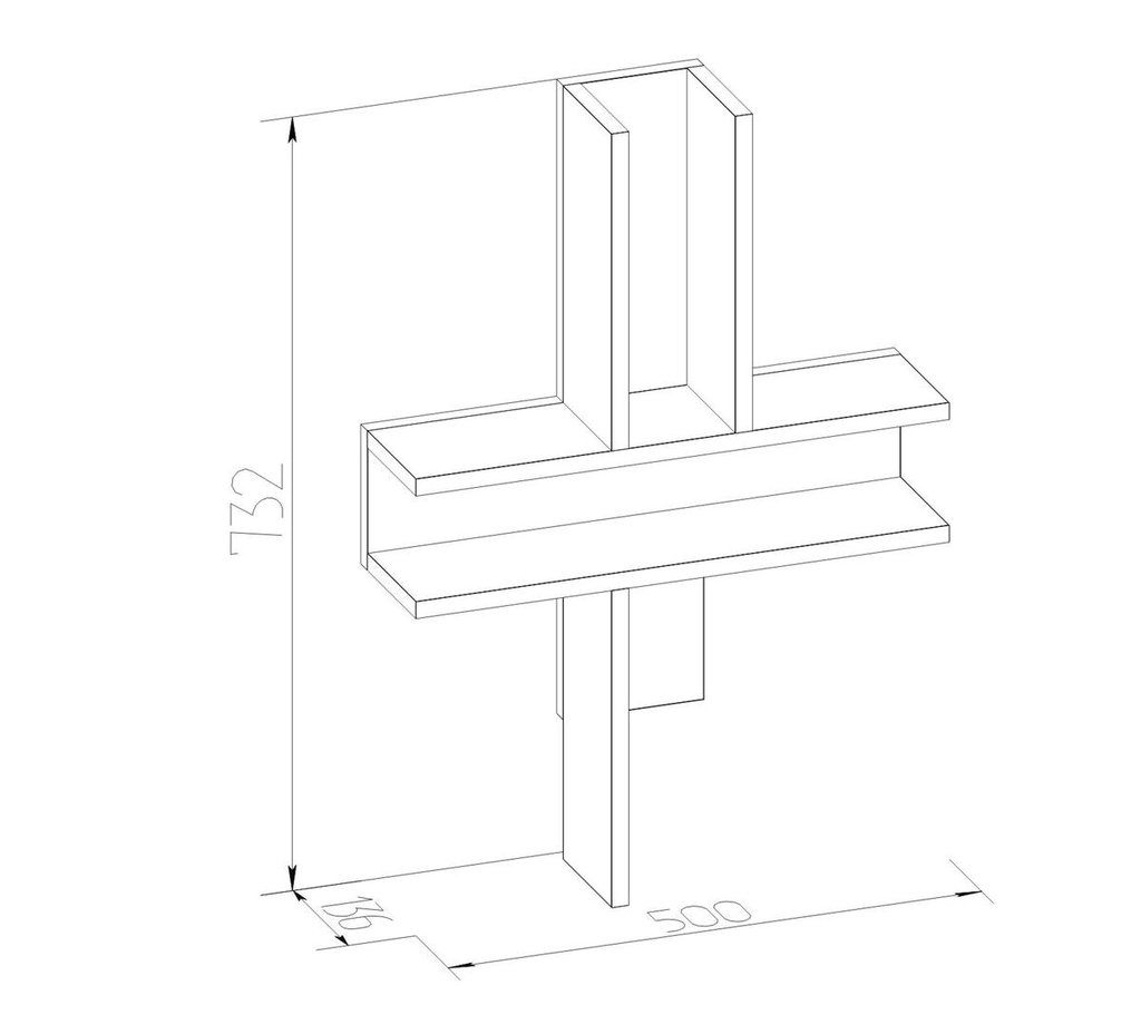 Стеллажи, общее: Стеллаж Кристи в Стильная мебель