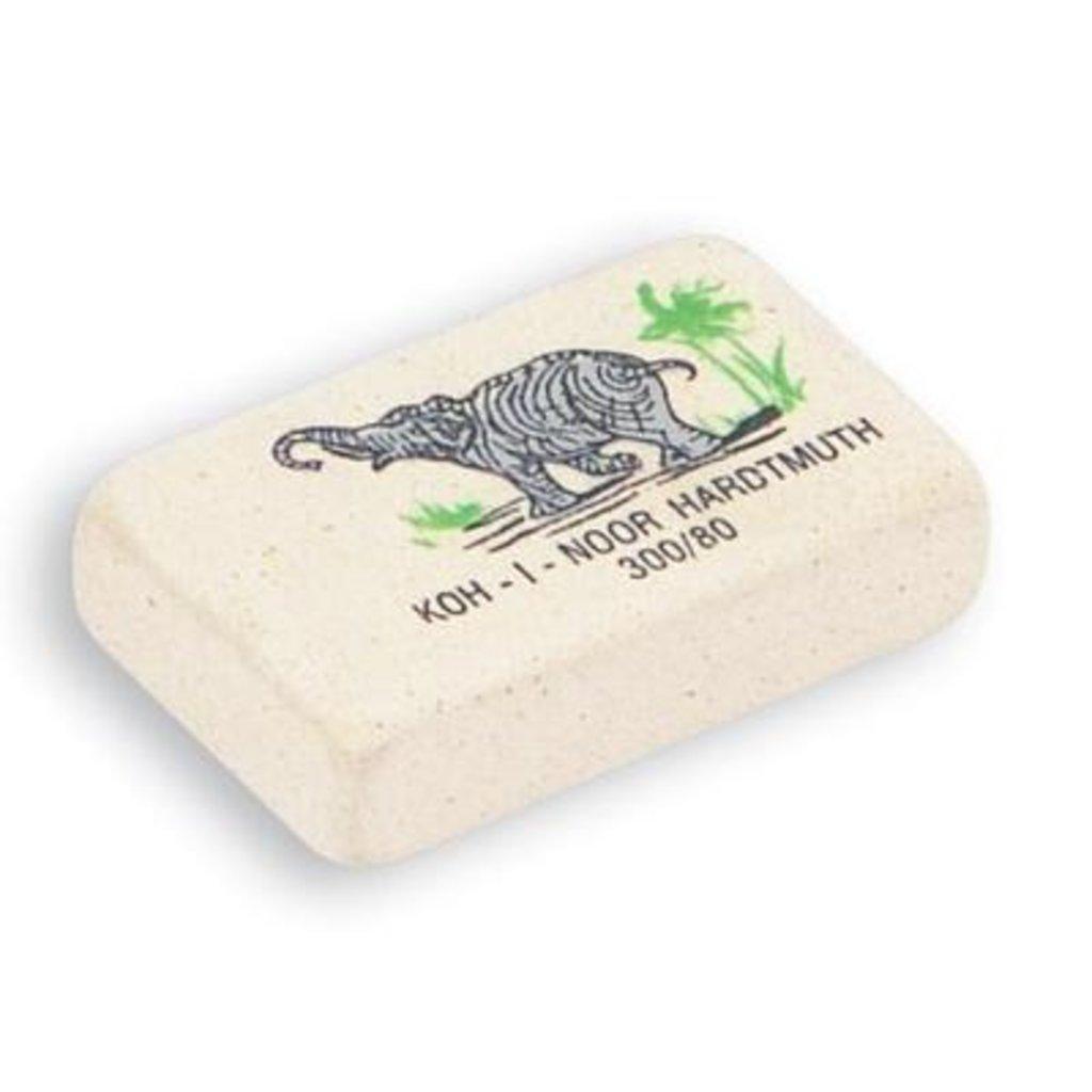 Ластик Elephant 300/80,каучук, 25*19*8мм KOH-I-NOR в Шедевр, художественный салон