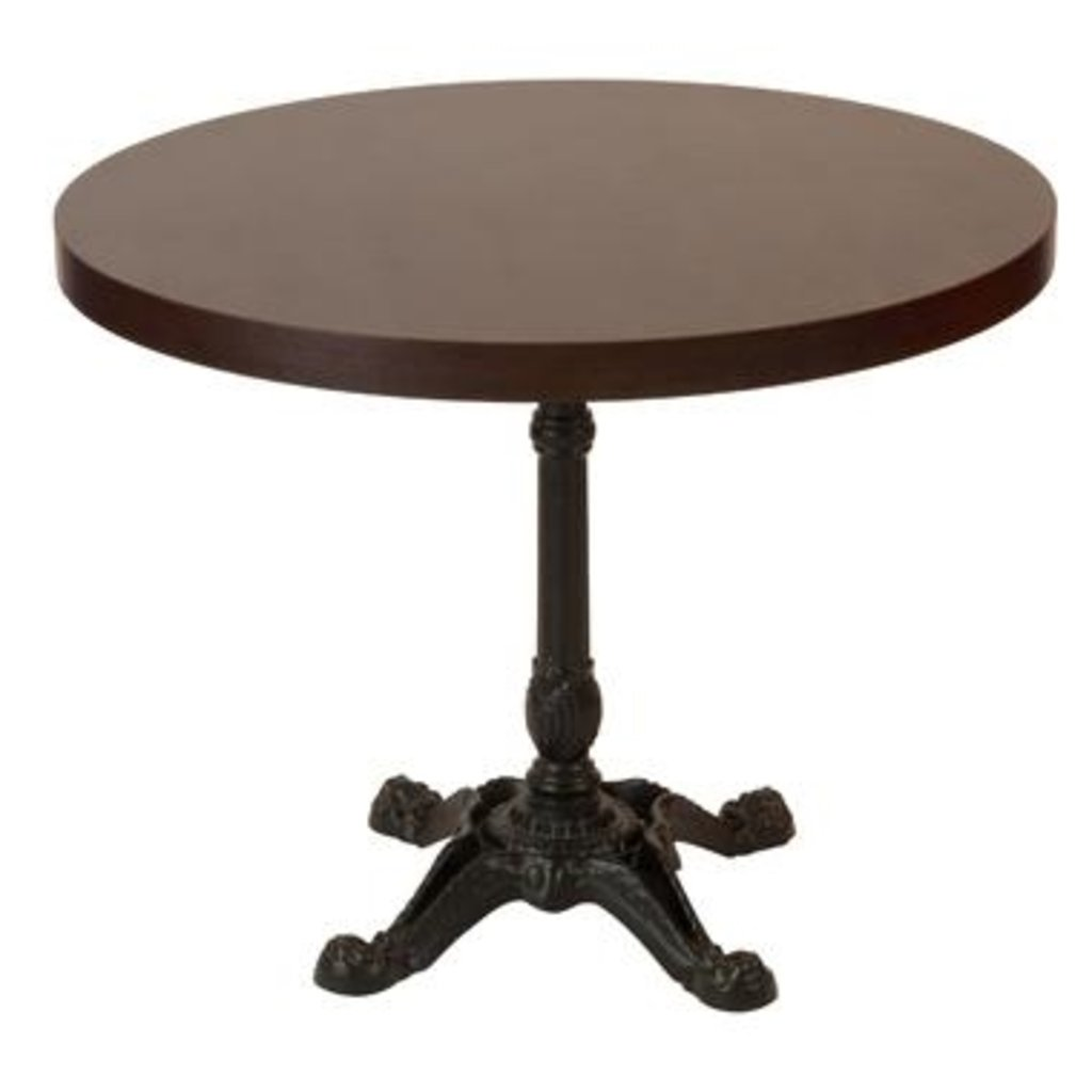 Столы для ресторана, бара, кафе, столовых.: Стол круг 800, подстолья 1037 ЕМ чугун в АРТ-МЕБЕЛЬ НН