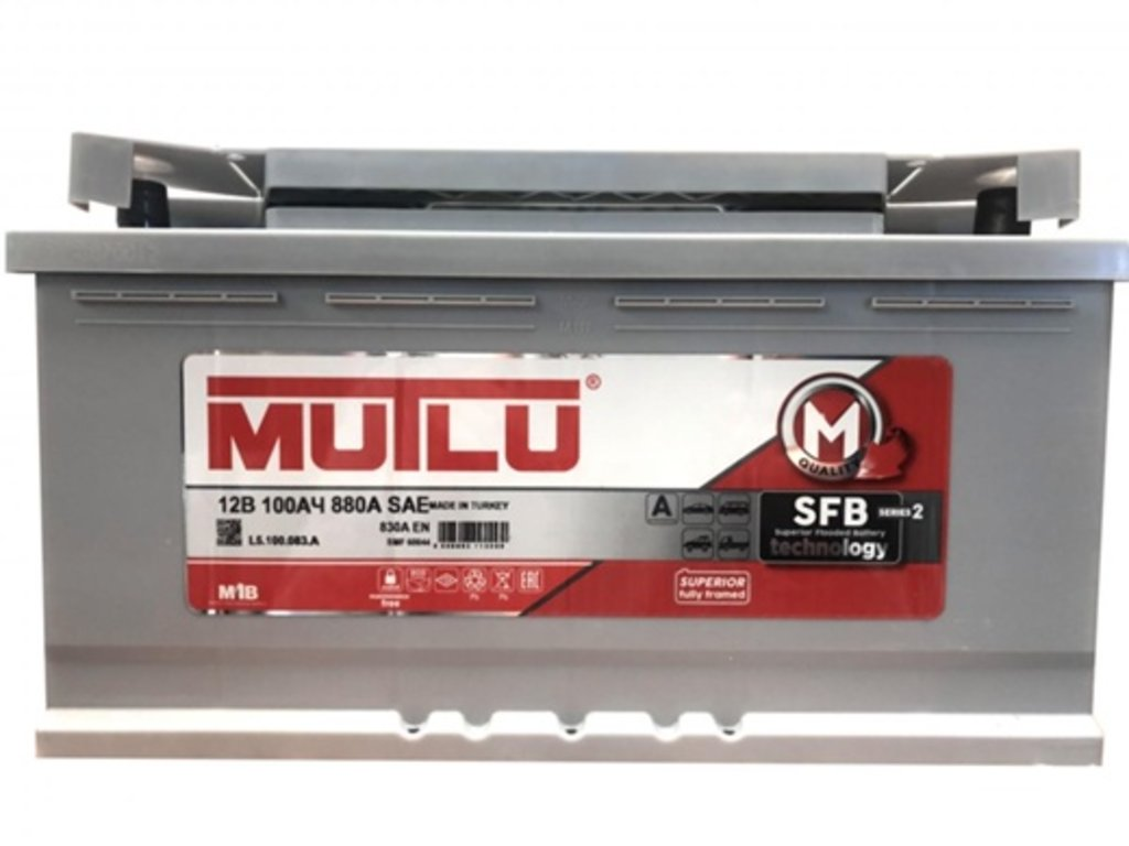 MUTLU: MUTLU 6CT - 100 в БазаАКБ