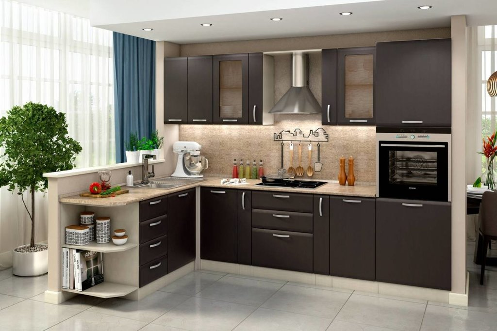 Изготовление мебели: Кухонный гарнитур в Мебельстройсервис плюс, ООО