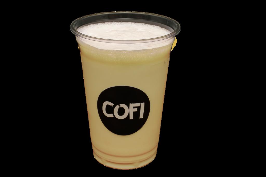 Молочные коктейли: Банановый молочный коктейль в Cofi