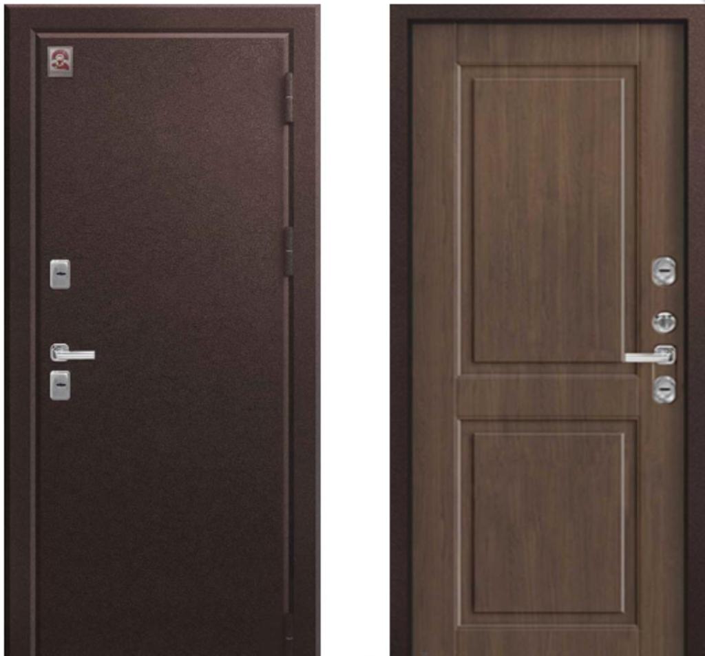 Двери Центурион: Центурион Т2 Шоколадный муар/Миндаль в Модуль Плюс