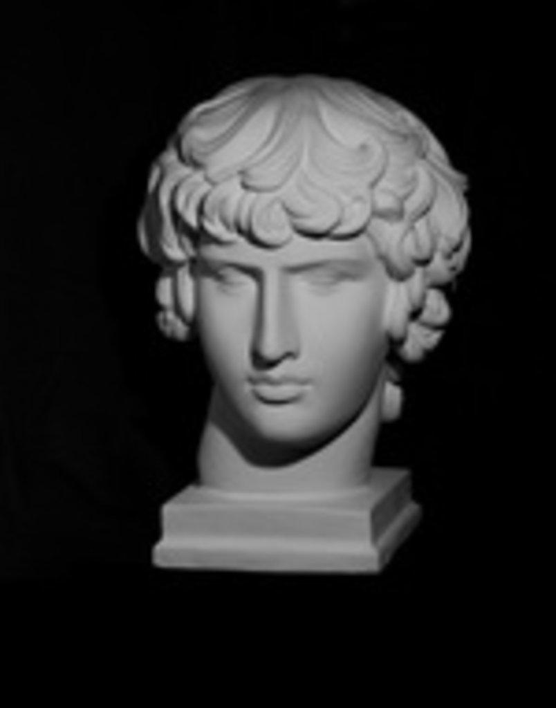 Гипсы: Голова Антиноя в Шедевр, художественный салон