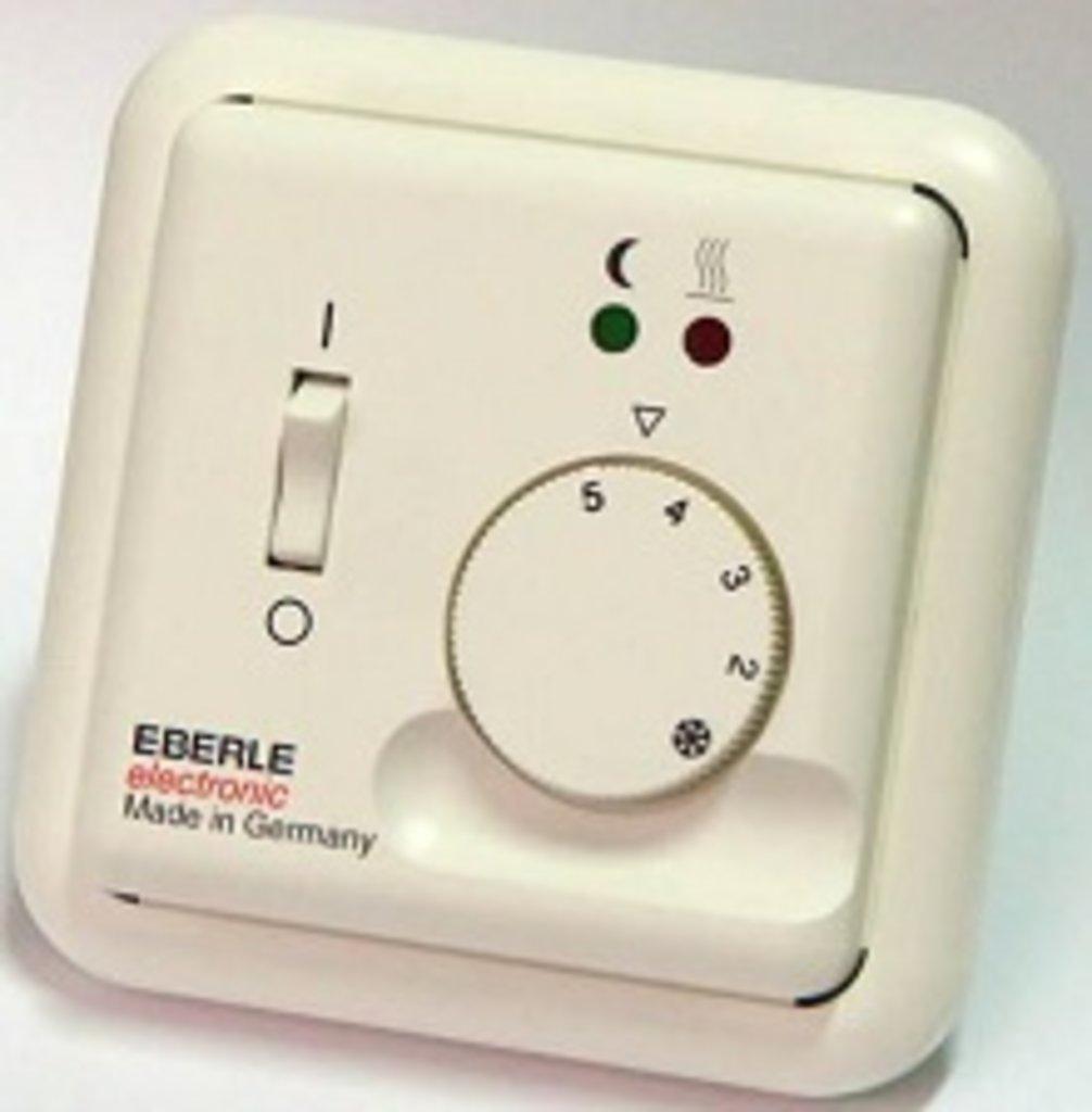 """Терморегуляторы и комплектующие: Терморегулятор """"Eberle"""" (Германия) Fre 525 23 10А в Теплолюкс-К, инженерная компания"""