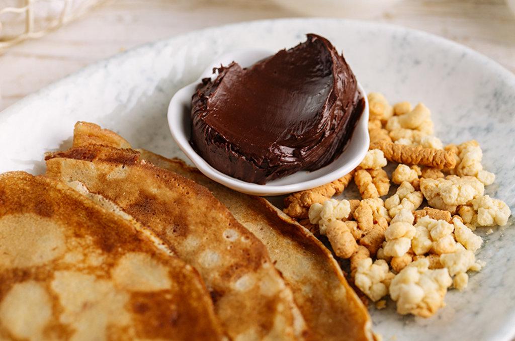 Блинчики: Блинчик с шоколадом в Провиант