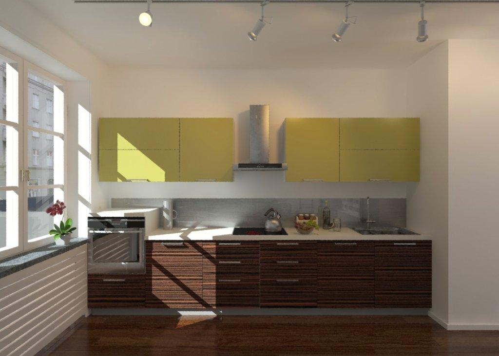 Кухня на заказ: Кузня на заказ Яркая в Студия Мебели