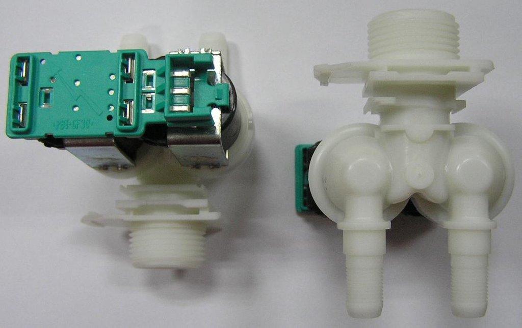 Клапана электрические наливные (КЭН): Электроклапан (клапан наливной электромагнитный - КЭН) 2Wx180 для стиральных машин Bosch (Бош)  D=14мм, 00428210, 00171261, 62AB023 в АНС ПРОЕКТ, ООО, Сервисный центр
