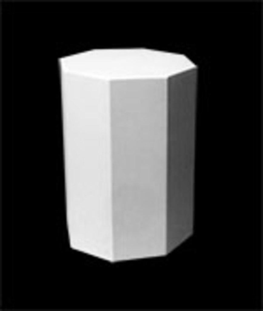Гипсы: Призма 8-гранная, гипс в Шедевр, художественный салон