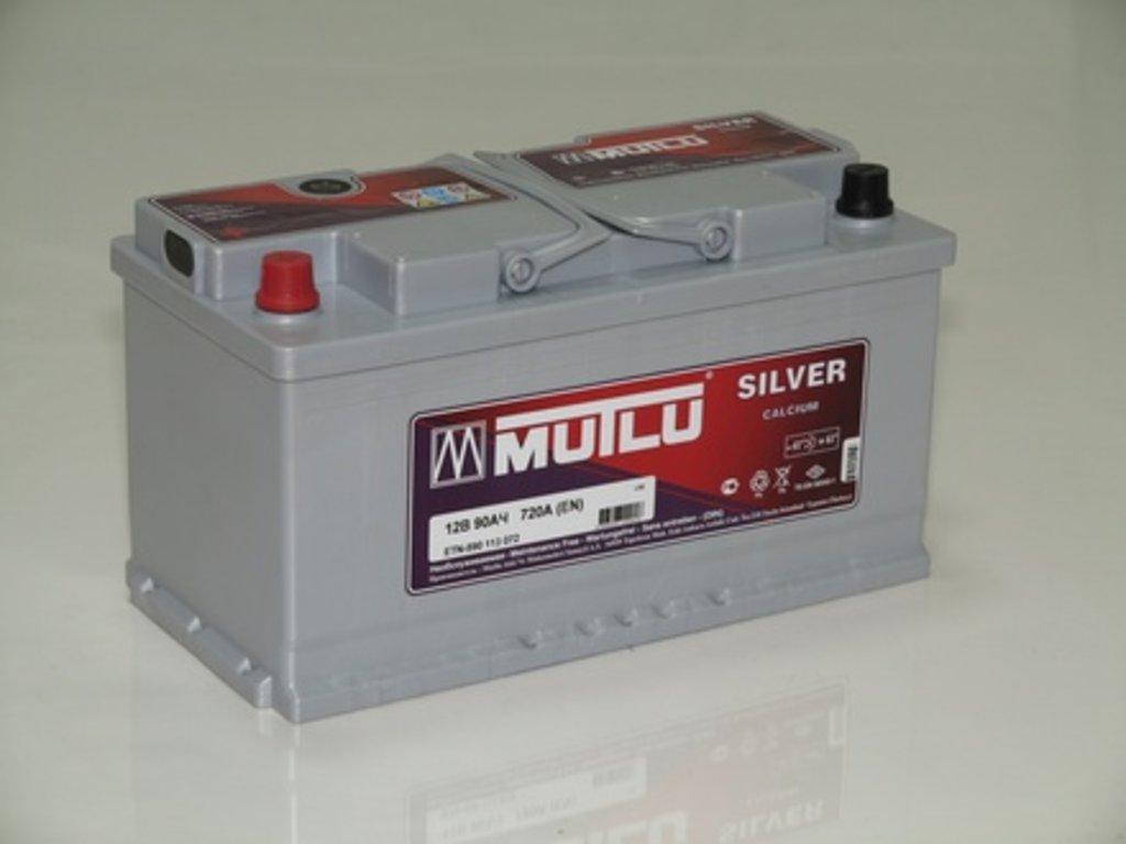 Аккумуляторы автомобильные: MUTLU SILVER 90 А/Ч R в Мир аккумуляторов