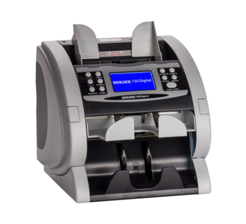 Счетчики банкнот: Magner 150 Digital двухкарманный счетчик банкнот в Рост-Касс