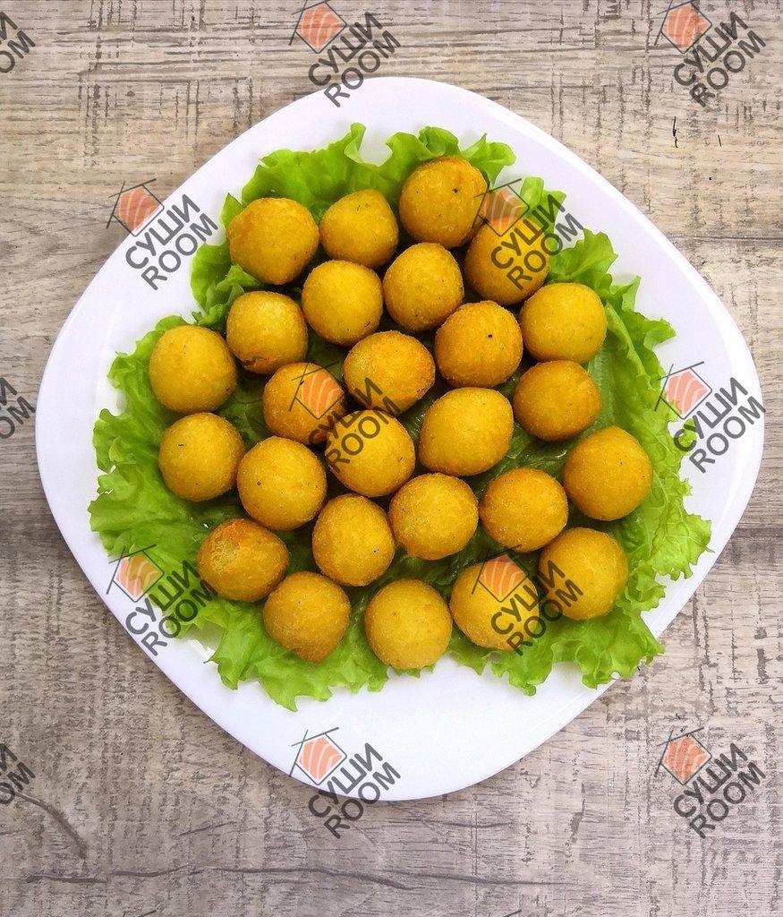 Закуски: Картофельные шарики в Суши Room