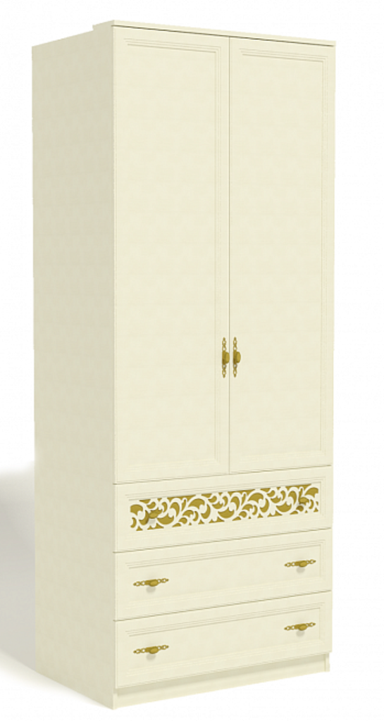 Спальни: Ливадия Л2 Шкаф для одежды в Диван Плюс